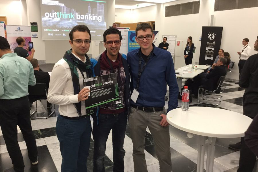 We Won The IBM Watson Outthink Banking Hackathon! And A $120.000 Price
