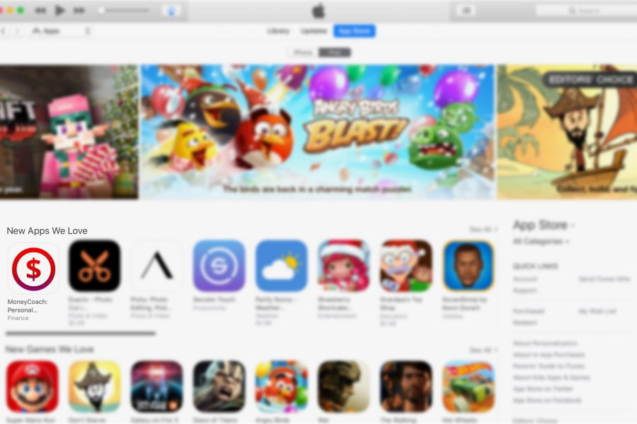 MoneyCoach gets featured on the App Store