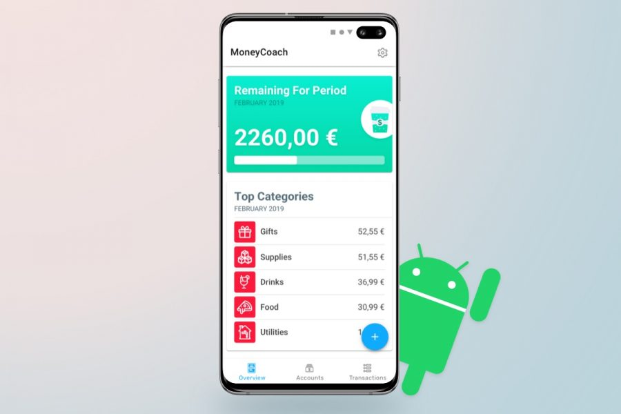 MoneyCoach Is Available On Android Today