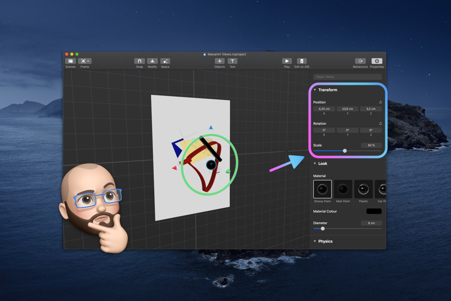 Create an AR Poster With Reality Composer