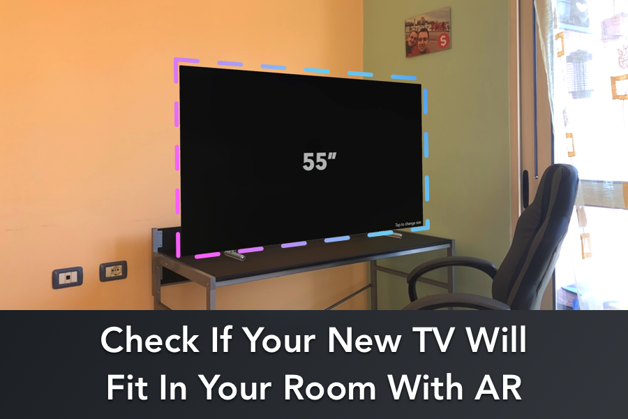 Particular AR app shows if a new TV will fit your room