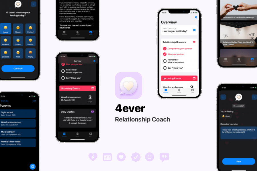4ever – Relationship Coach Releases Today on the App Store
